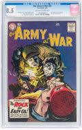 Silver Age (1956-1969):War, Our Army at War #81 (DC, 1959) CGC VF+ 8.5 Off-white to white pages....