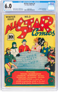 Golden Age (1938-1955):Superhero, All Star Comics #3 (DC, 1940) CGC FN 6.0 Cream to off-white pages....