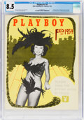 Magazines:Miscellaneous, Playboy #3 (HMH Publishing, 1954) CGC VF+ 8.5 Off-white to white pages....