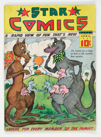 Star Comics V1#2 (Harry 'A' Chesler, 1937) Condition: GD/VG