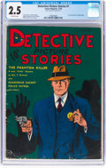 Platinum Age (1897-1937):Miscellaneous, Detective Picture Stories #1 (Comics Magazine, 1936) CGC GD+ 2.5Off-white pages....
