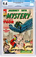 Silver Age (1956-1969):Superhero, Journey Into Mystery #101 (Marvel, 1964) CGC NM 9.4 Off-wh...