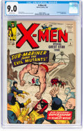 Silver Age (1956-1969):Superhero, X-Men #6 (Marvel, 1964) CGC VF/NM 9.0 Off-white pages....