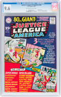 Silver Age (1956-1969):Superhero, Justice League of America #39 (DC, 1965) CGC NM+ 9.6 Off-white to white pages....