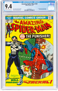 The Amazing Spider-Man #129 (Marvel, 1974) CGC NM 9.4 Cream to off-white pages