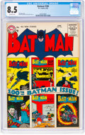 Silver Age (1956-1969):Superhero, Batman #100 (DC, 1956) CGC VF+ 8.5 Off-white pages....