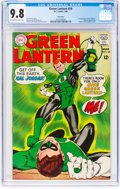 Silver Age (1956-1969):Superhero, Green Lantern #59 (DC, 1968) CGC NM/MT 9.8 Off-white to whitepages....