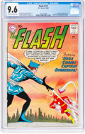 Silver Age (1956-1969):Superhero, The Flash #117 (DC, 1960) CGC NM+ 9.6 Off-white to white pages....