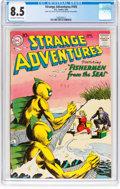 Silver Age (1956-1969):Science Fiction, Strange Adventures #105 (DC, 1959) CGC VF+ 8.5 Off-white to whitepages....