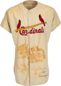 Baseball Collectibles:Uniforms, 1961 Joe Cunningham Game Worn St. Louis Cardinals Jersey from The Enos Slaughter Collection. ...