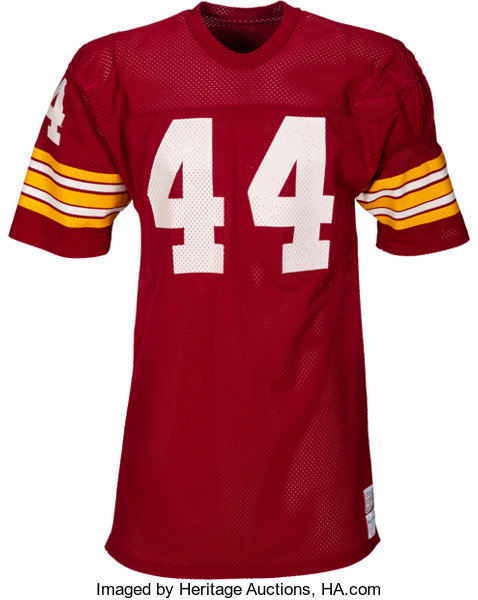 new arrival a1891 3e2c1 1976-77 John Riggins Game Worn Washington Redskins Jersey ...