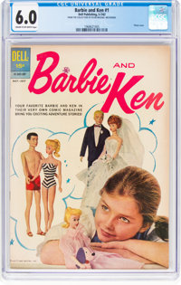Barbie and Ken #1 (Dell, 1962) CGC FN 6.0 Cream to off-white pages