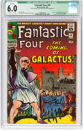 Silver Age (1956-1969):Superhero, Fantastic Four #48 (Marvel, 1966) CGC Qualified FN 6.0 Off-white towhite pages....