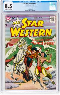 All Star Western #102 (DC, 1958) CGC VF+ 8.5 Off-white to white pages