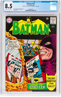 Batman #173 (DC, 1965) CGC VF+ 8.5 Off-white to white pages
