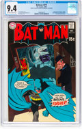 Silver Age (1956-1969):Superhero, Batman #217 (DC, 1969) CGC NM 9.4 Off-white to white pages....