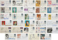 Baseball Collectibles:Others, 1950's-90's Baseball Hall of Famers Signed First Day Covers & More Lot of Approximately 250....