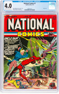 Golden Age (1938-1955):Superhero, National Comics #7 (Quality, 1941) CGC VG 4.0 Cream to off-white pages....