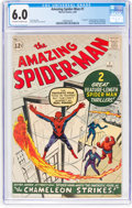 Silver Age (1956-1969):Superhero, The Amazing Spider-Man #1 (Marvel, 1963) CGC FN 6.0 Off-white towhite pages....