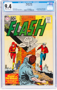 The Flash #123 (DC, 1961) CGC NM 9.4 Off-white to white pages