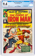 Silver Age (1956-1969):Superhero, Tales of Suspense #58 (Marvel, 1964) CGC NM 9.4 Off-white to whitepages....