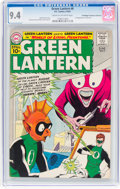 Silver Age (1956-1969):Superhero, Green Lantern #6 Don/Maggie Thompson Collection Pedigree (DC, 1961)CGC NM 9.4 Cream to off-white pages....