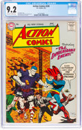 Silver Age (1956-1969):Superhero, Action Comics #226 (DC, 1957) CGC NM- 9.2 Off-white to whitepages....