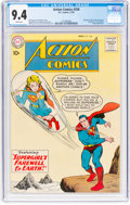 Silver Age (1956-1969):Superhero, Action Comics #258 (DC, 1959) CGC NM 9.4 White pages....