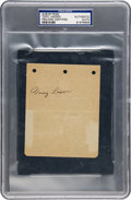 Baseball Collectibles:Others, 1930's Tony Lazzeri Signed Album Page, PSA/DNA Authentic....