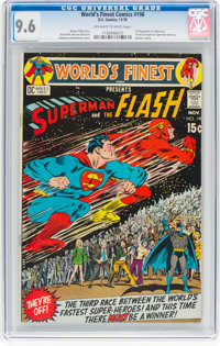 World's Finest Comics #198 (DC, 1970) CGC NM+ 9.6 Off-white to white pages