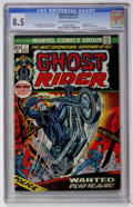 Bronze Age (1970-1979):Horror, Ghost Rider #1 (Marvel, 1973) CGC VF+ 8.5 Off-white to whitepages....