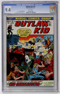 Bronze Age (1970-1979):Western, Outlaw Kid #14 (Marvel, 1973) CGC NM 9.4 White pages....