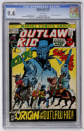 Bronze Age (1970-1979):Western, Outlaw Kid #10 (Marvel, 1972) CGC NM 9.4 White pages....