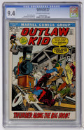 Bronze Age (1970-1979):Western, Outlaw Kid #11 (Marvel, 1972) CGC NM 9.4 Off-white to white pages....