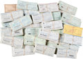 Baseball Collectibles:Others, 1980's-90's Enos Slaughter Signed Checks Lot of 3,700+ from TheEnos Slaughter Collection....
