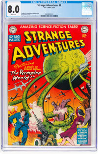 Strange Adventures #6 (DC, 1951) CGC VF 8.0 White pages