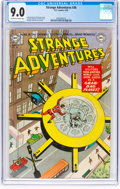 Golden Age (1938-1955):Science Fiction, Strange Adventures #36 (DC, 1953) CGC VF/NM 9.0 Off-white to white pages....