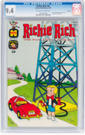 Silver Age (1956-1969):Humor, Richie Rich #61 File Copy (Harvey, 1967) CGC NM 9.4 Off-white to white pages....