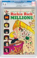 Bronze Age (1970-1979):Cartoon Character, Richie Rich Millions #42 File Copy (Harvey, 1970) CGC NM+ 9.6 Off-white to white pages....