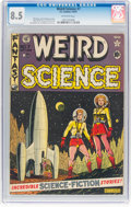 Golden Age (1938-1955):Science Fiction, Weird Science #7 (EC, 1951) CGC VF+ 8.5 Off-white pages....