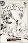 Original Comic Art:Covers, Jim Aparo Adventure Comics #450 Aquaman Cover Original Art (DC, 1977)....