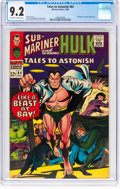 Silver Age (1956-1969):Superhero, Tales to Astonish #84 (Marvel, 1966) CGC NM- 9.2 Off-white to whitepages....