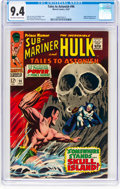 Silver Age (1956-1969):Superhero, Tales to Astonish #96 (Marvel, 1967) CGC NM 9.4 Off-white to whitepages....