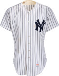 Baseball Collectibles:Uniforms, Early 1980's Enos Slaughter Old Timers Game Worn New York YankeesUniform from The Enos Slaughter Collection.. ...