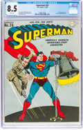 Golden Age (1938-1955):Superhero, Superman #26 (DC, 1944) CGC VF+ 8.5 White pages....