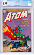 Silver Age (1956-1969):Superhero, The Atom #6 (DC, 1963) CGC VF/NM 9.0 Off-white to white pages....