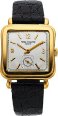 Timepieces:Wristwatch, Patek Philippe, Ref. 2493J, 18k Gold Wristwatch, Circa 1953. ...