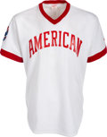 Baseball Collectibles:Uniforms, Early 1980's Enos Slaughter Game Worn Cracker Jack Old-Timers' DayUniform from The Enos Slaughter Collection. ...