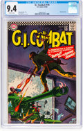 Silver Age (1956-1969):War, G.I. Combat #119 (DC, 1966) CGC NM 9.4 Off-white pages....