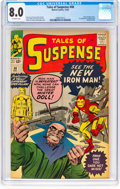 Silver Age (1956-1969):Superhero, Tales of Suspense #48 (Marvel, 1963) CGC VF 8.0 Off-white pages....
